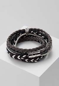 sweet deluxe - ADEOLA - Bracciale - silver-coloured/black - 2