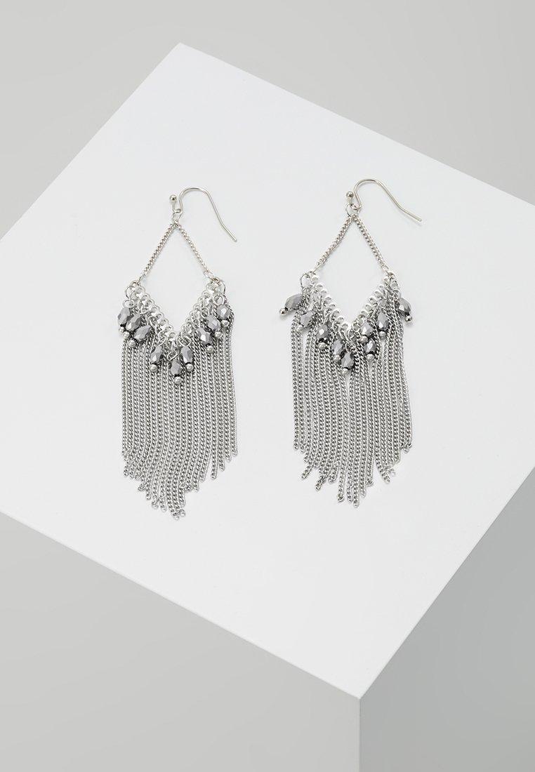 sweet deluxe - Øredobber - silver-coloured/grey