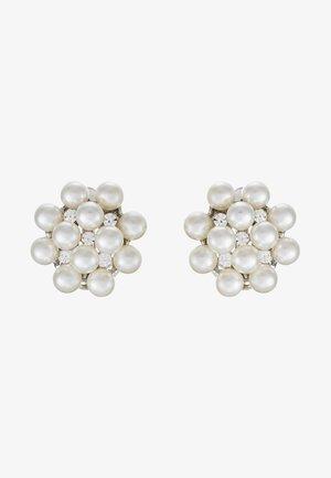 Boucles d'oreilles - silber/crystal/pearl