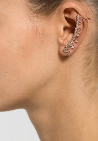 sweet deluxe - Earrings - rose gold-coloured/crystal - 0