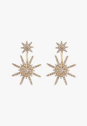 GALACTIC - Earrings - gold/crystal
