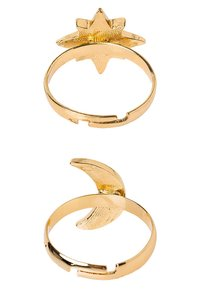 sweet deluxe - SET - Bague - gold-coloured/crystal - 3