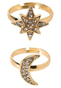sweet deluxe - SET - Bague - gold-coloured/crystal - 2