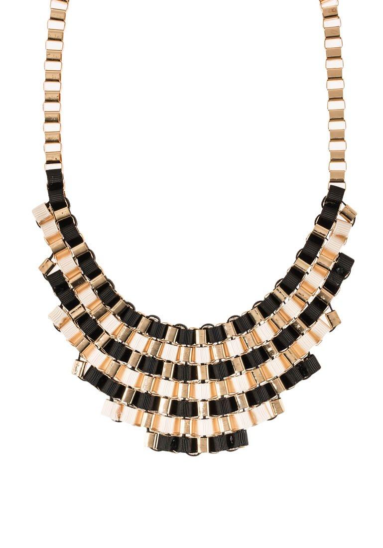 sweet deluxe - Collar - goldfarben/schwarz