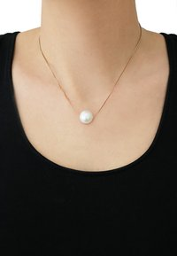 sweet deluxe - One Pearl - Collana - gold-coloured - 0
