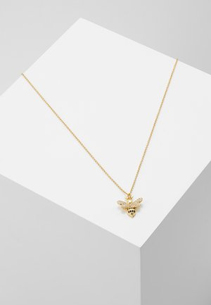 SMALL BEE - Necklace - gold-coloured
