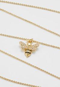 sweet deluxe - SMALL BEE - Naszyjnik - gold-coloured - 4