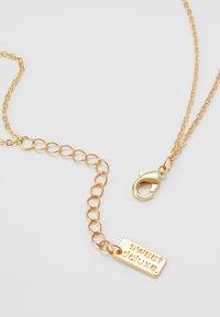 sweet deluxe - ALIKA - Necklace - gold-coloured/schwarz - 2