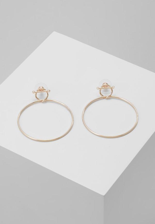 VANIA - Earrings - rosegold-coloured