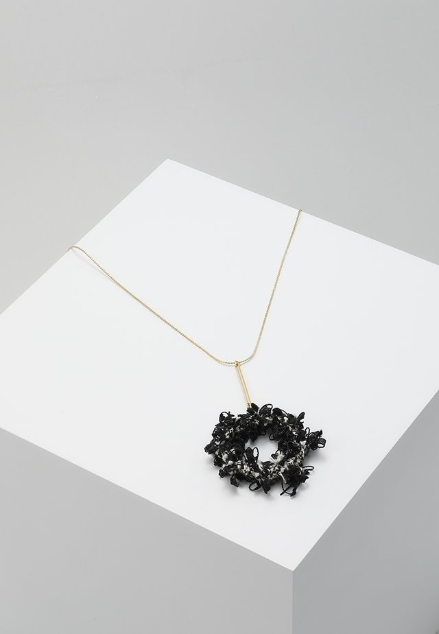 COCO STYLE - Necklace - gold-coloured/schwarz mix