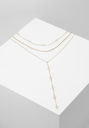 3 PACK - Collier - gold-coloured