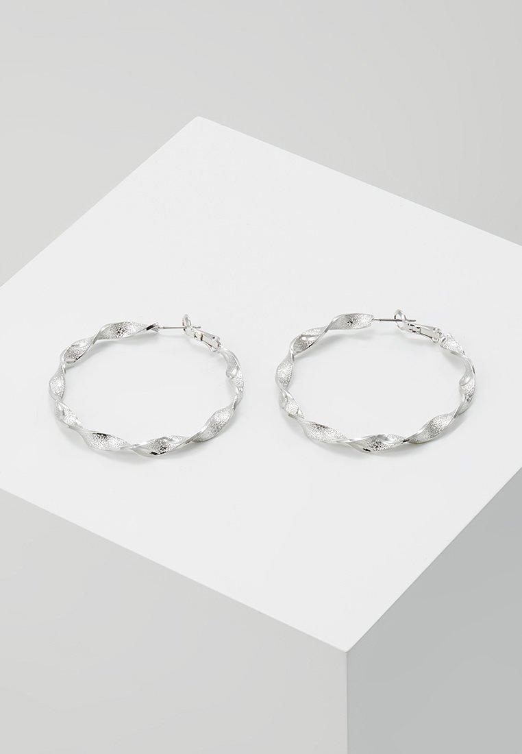 sweet deluxe - CREOLEN - Pendientes - silver-coloured