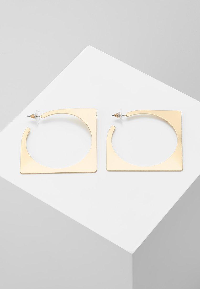 sweet deluxe - CREOLEN MATT - Earrings - gold-coloured