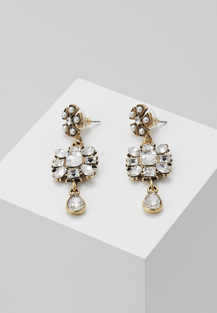 sweet deluxe - FAUSTA - Pendientes - gold-coloured