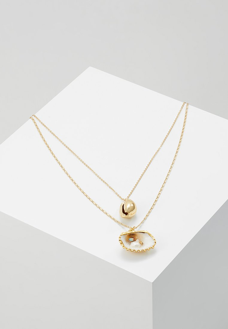 sweet deluxe - ADORATA - Necklace - gold-coloured/weiß