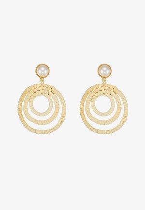 SCHMUCK ADYA - Earrings - gold-coloured
