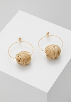 AKI - Earrings - gold-coloured