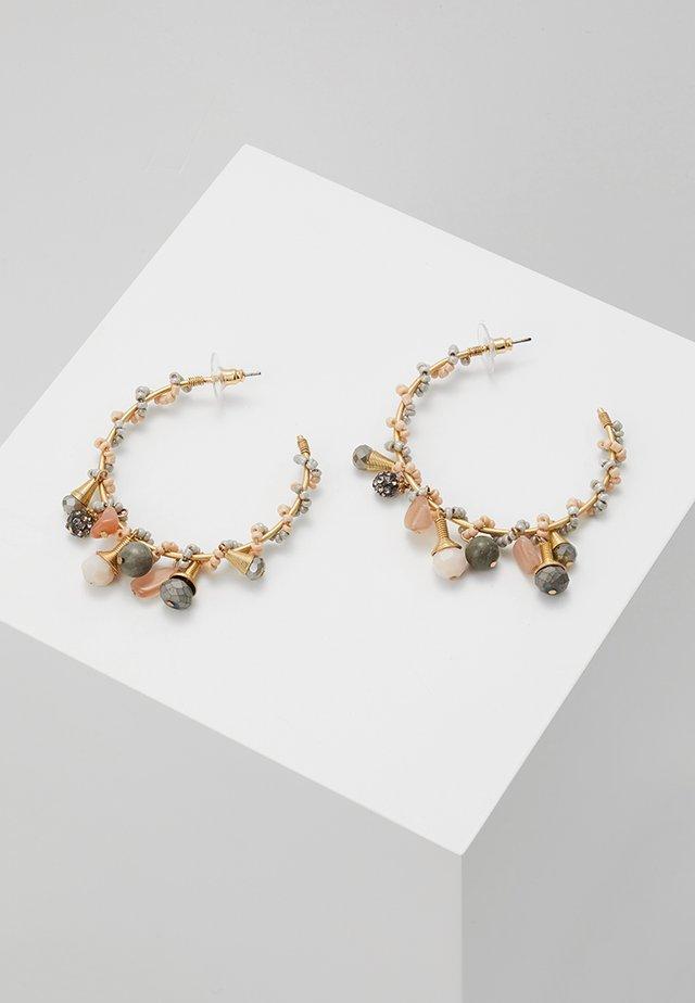 OHRSCHMUCK ELVIANA - Oorbellen - gold-coloured/rose/grau