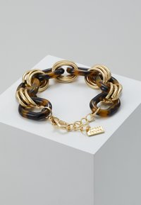 sweet deluxe - FERMENA - Pulsera - gold-coloured/brown - 2