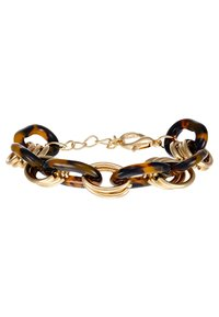sweet deluxe - FERMENA - Pulsera - gold-coloured/brown - 3