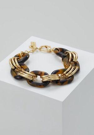 FERMENA - Armbånd - gold-coloured/brown