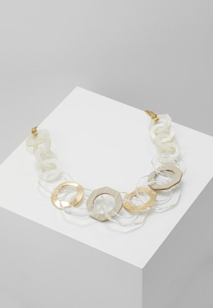 LISBETH - Necklace - gold-coloured/beige/creme
