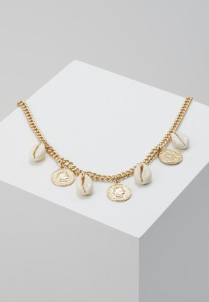 REINA - Collar - gold-coloured/beige