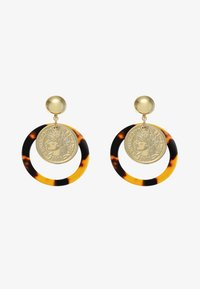 sweet deluxe - EUFEMIA - Pendientes - gold-coloured/brown - 3