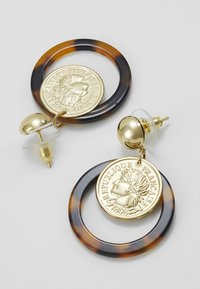 sweet deluxe - EUFEMIA - Pendientes - gold-coloured/brown - 2