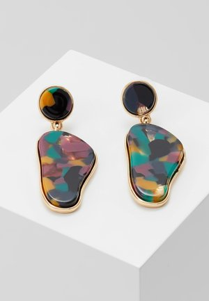 FLEURELLE - Earrings - gold-coloured/multicolor