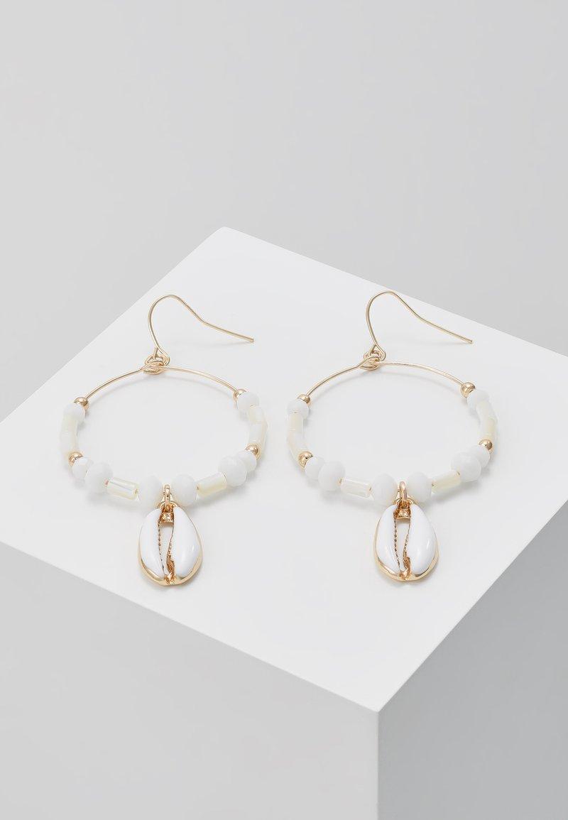 sweet deluxe - OHRSCHMUCK FELKA - Earrings - gold-coloured/natur