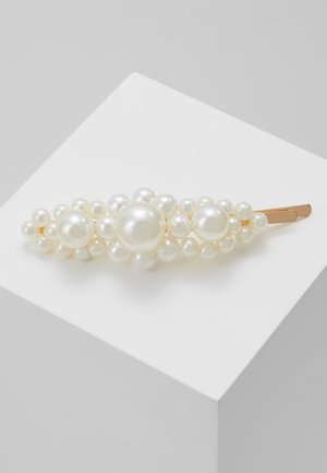 HAIR ACCESSORY - Håraccessoar - white/gold-coloured