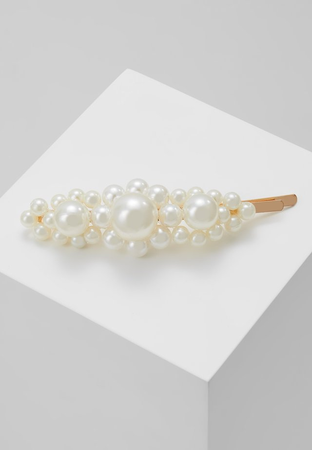 HAIR ACCESSORY - Hair Styling Accessory - white/gold-coloured