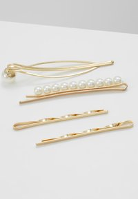 sweet deluxe - HAIR ACCESSORY 4 PACK - Håraccessoar - gold-coloured/weiß - 2