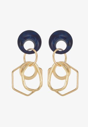 Örhänge - gold-coloured/blue
