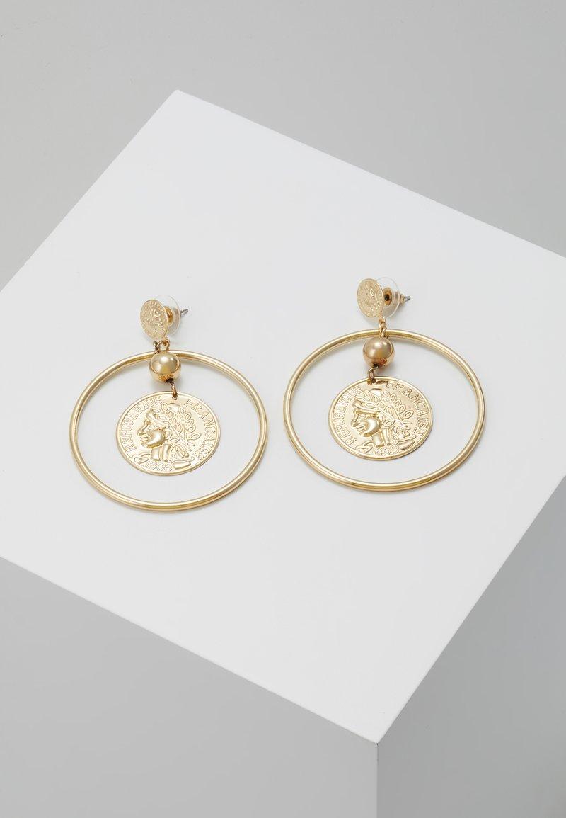 sweet deluxe - Boucles d'oreilles - gold-coloured
