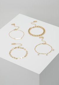 sweet deluxe - SET - Armband - gold-coloured - 0
