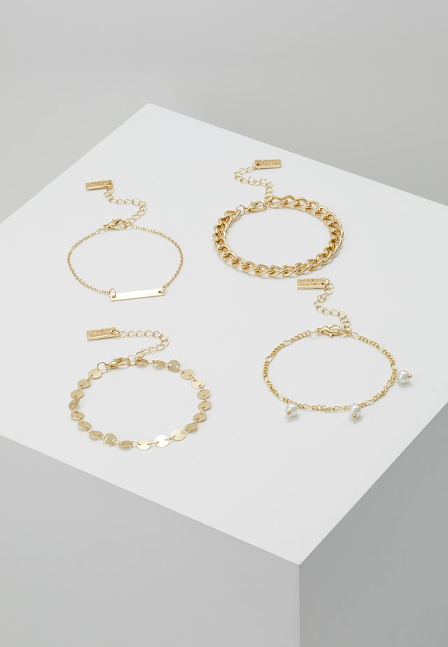 SET - Armband - gold-coloured