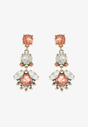 Boucles d'oreilles - antikgold-coloured/rose