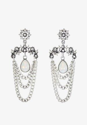 Boucles d'oreilles - silver-coloured