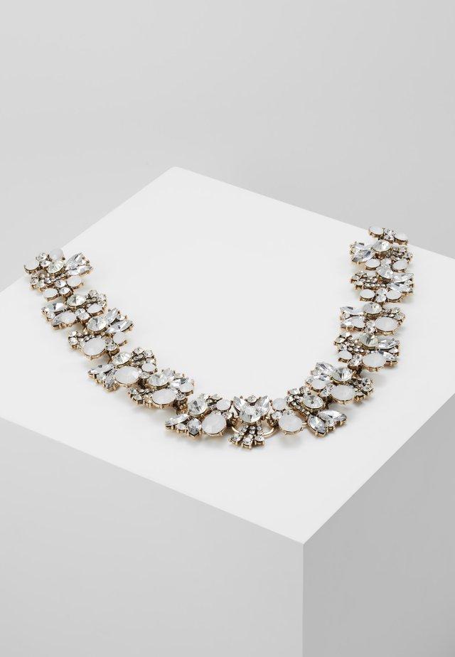 EVELYN - Naszyjnik - silver-coloured/crystal