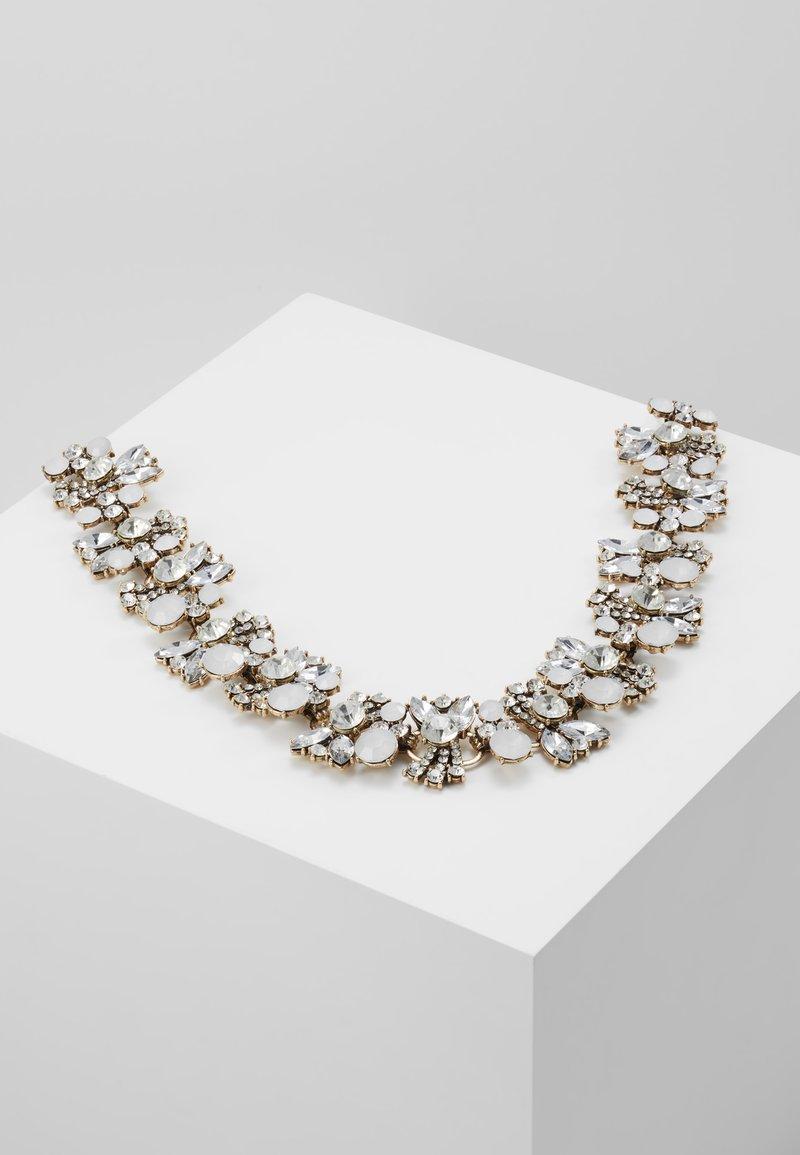 sweet deluxe - EVELYN - Halskæder - silver-coloured/crystal