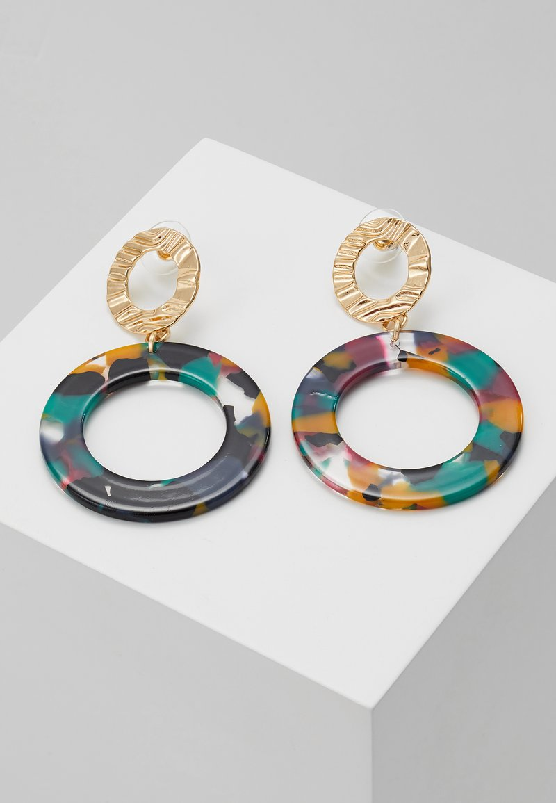 sweet deluxe - ELGA - Earrings - gold-coloured/multi