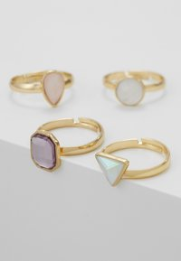 sweet deluxe - PIRJO 4 PACK - Bague - gold-coloured - 4