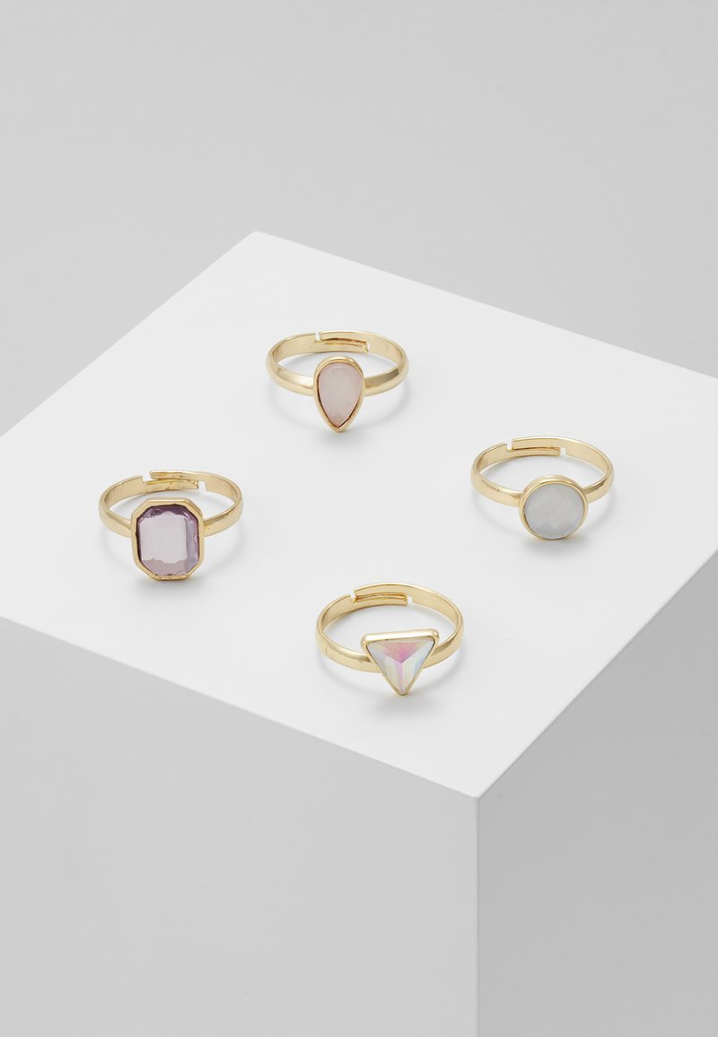 sweet deluxe - PIRJO 4 PACK - Ring - gold-coloured