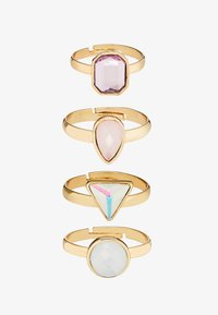 sweet deluxe - PIRJO 4 PACK - Bague - gold-coloured - 3
