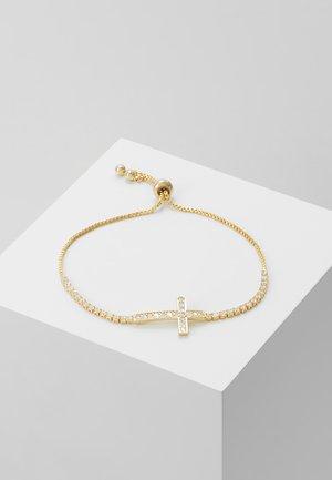 SLIDING KREUZ - Armband - gold-coloured