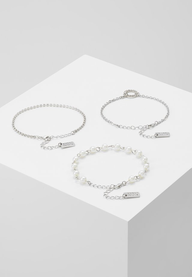 3 PACK - Bracciale - silber-coloured