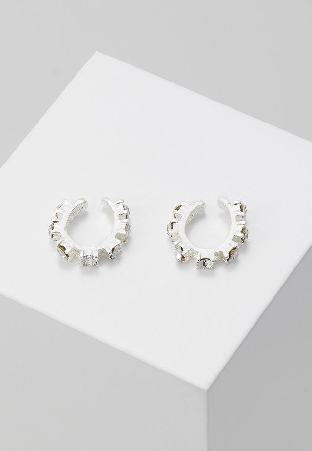 EAR CUFF - Boucles d'oreilles - silber/crystal