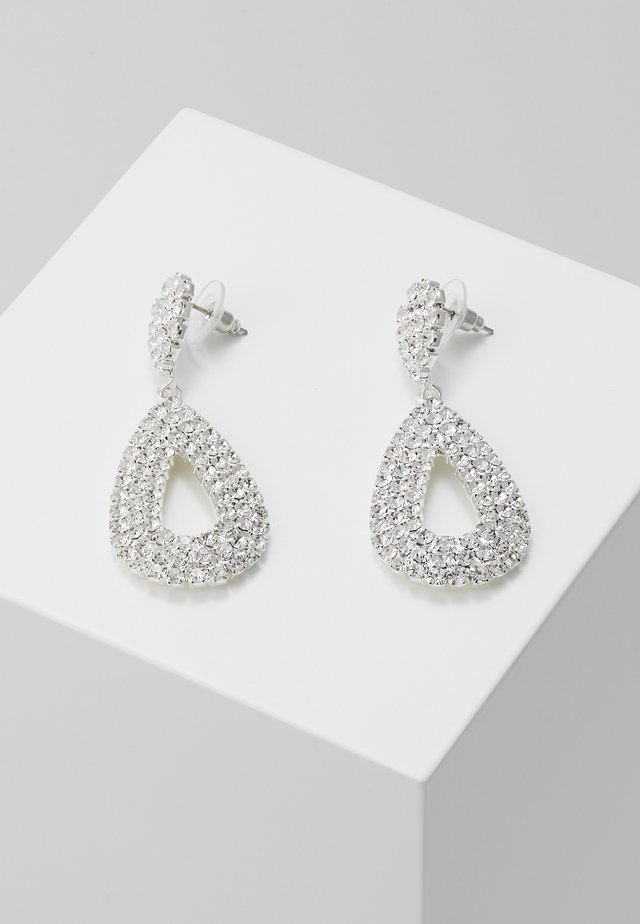 DROP EARRINGS - Kolczyki - silber/crystal